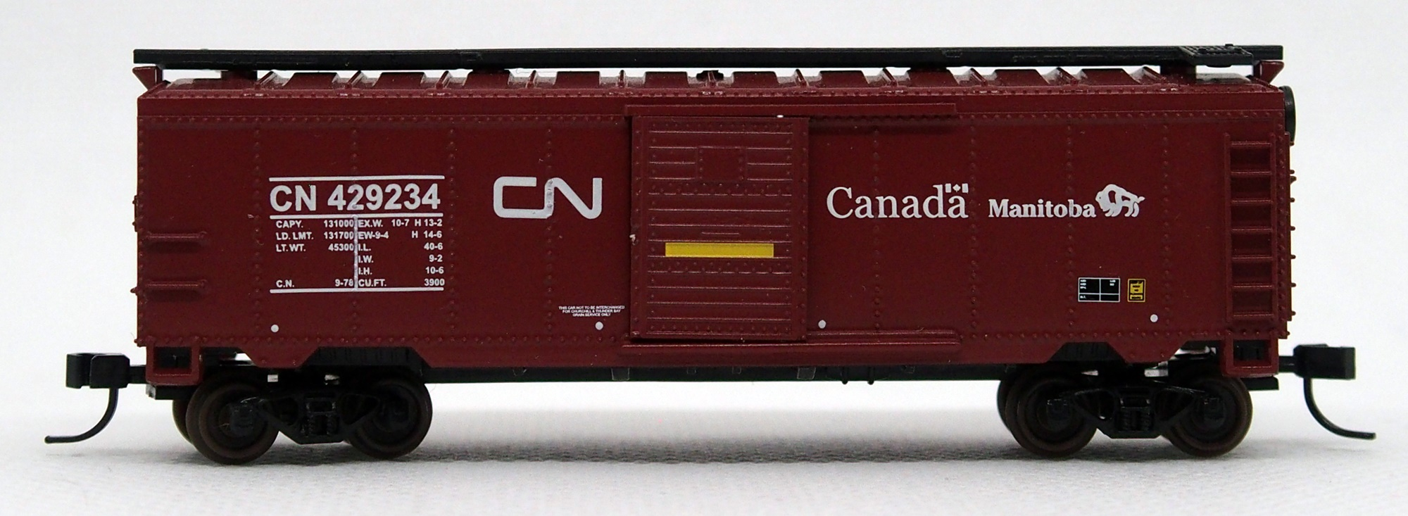 N Scale - Life-Like - C825037 - Boxcar, 40 Foot, PS-1 - Canadian National - 429234