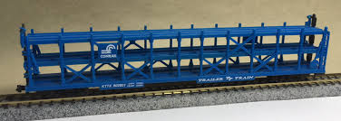 N Scale - Arnold - 531X - Autorack, Open, F89F Tri-Level - Southern Pacific - 50156