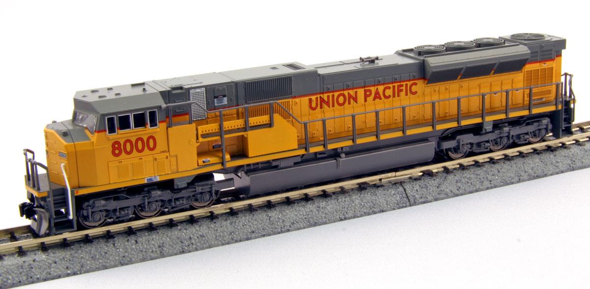 N Scale - Kato USA - 176-5615 - Locomotive, Diesel, EMD SD90MAC - Union Pacific - 8085
