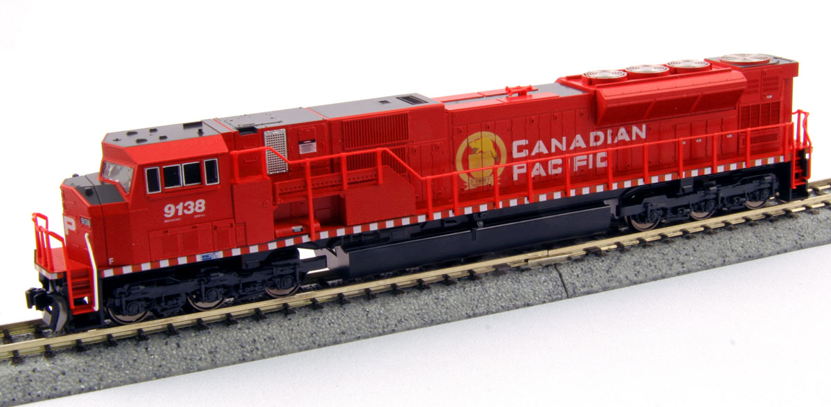 N Scale - Kato USA - 176-5601 - Locomotive, Diesel, EMD SD90MAC - Canadian Pacific - 9120
