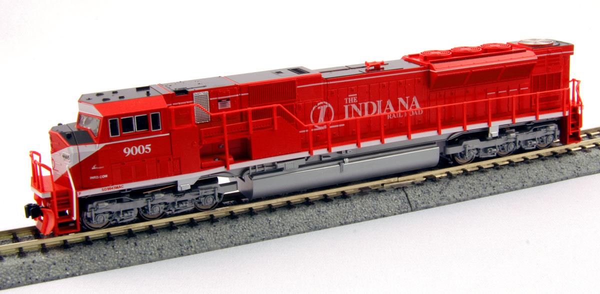 N Scale - Kato USA - 176-5619 - Locomotive, Diesel, EMD SD90MAC - Indiana Rail Road - 9005