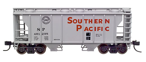 N Scale - Atlas - 31652 - Covered Hopper, 2-Bay, PS2 - Southern Pacific - 401298