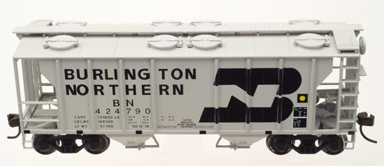 N Scale - Atlas - 31881 - Covered Hopper, 2-Bay, PS2 - Burlington Northern - 424790