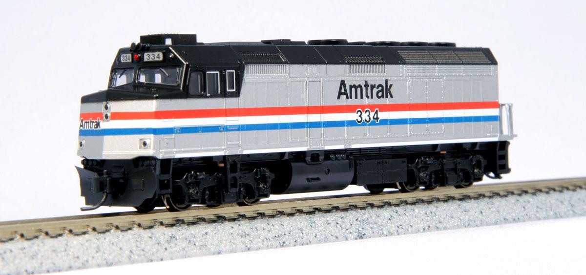 N Scale - Kato USA - 106-6105 - Locomotive, Diesel, EMD F40PH - Amtrak - 330