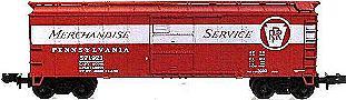 N Scale - Red Caboose - 27027-22 - Boxcar, 40 Foot, Steel ARA/X-29 - Pennsylvania - 92429