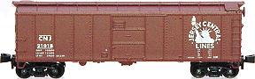 N Scale - Red Caboose - BLW-171-3 - Boxcar, 40 Foot, Steel ARA/X-29 - Jersey Central