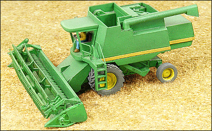 N Scale - GHQ Models - 54009 - Wheat Combine - Undecorated