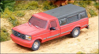 N Scale - GHQ Models - 51004 - Ford F-150 Pickup - Undecorated