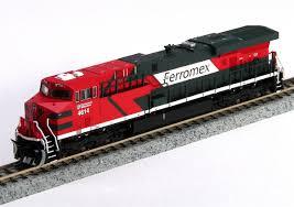 N Scale - Fox Valley - 70273 - Locomotive, Diesel, GE GEVO - Ferromex - 4658