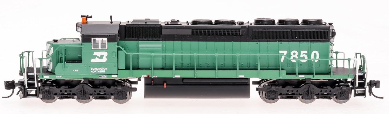 N Scale - InterMountain - 69355S-03 - Locomotive, Diesel, EMD SD40-2 - Burlington Northern - 7847