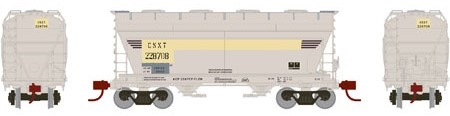 N Scale - Athearn - 12490 - Covered Hopper, 2-Bay, ACF Centerflow - CSX Transportation - 226692