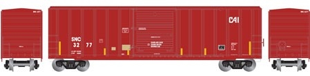 N Scale - Athearn - 24286 - Boxcar, 50 Foot, FMC, 5347 - Seattle & North Coast - 3291