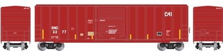 N Scale - Athearn - 24284 - Boxcar, 50 Foot, FMC, 5347 - Seattle & North Coast - 3277