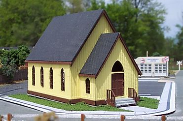 N Scale - Osborn Models - RRA-3030 - Church - Religious Structures - Church