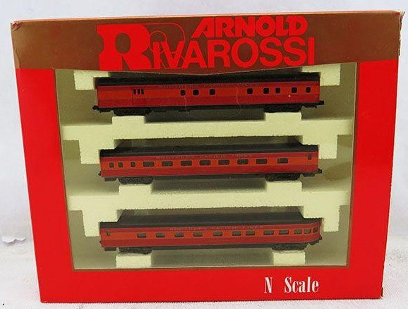 N Scale - Arnold - 0514 - Passenger Car, Lightweight, Smoothside - Southern Pacific