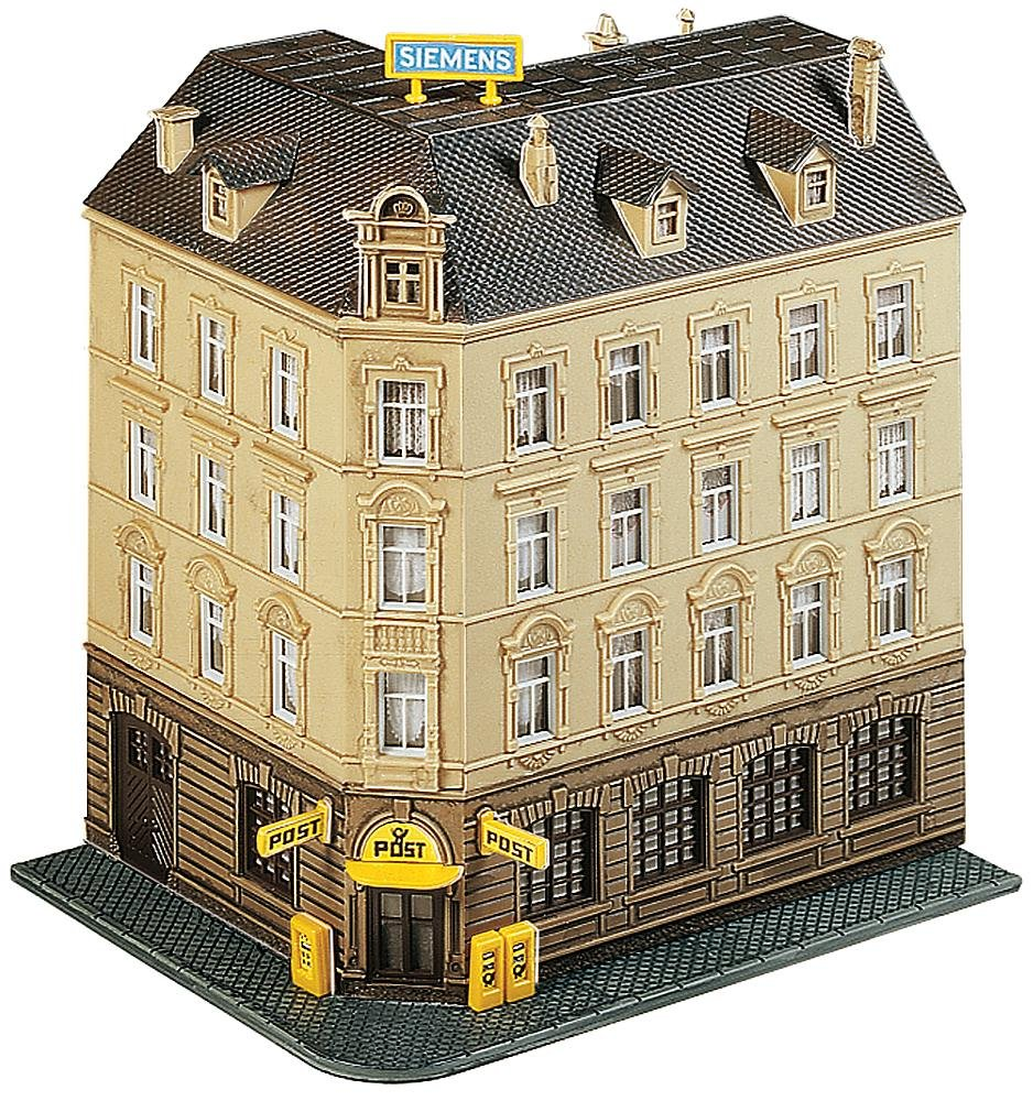N Scale - Faller - 232305 - 5 Story Croner Building - Commercial Structures