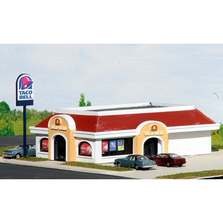 N Scale - Summit Customcuts - TB-002 - Restaurant - Taco Bell
