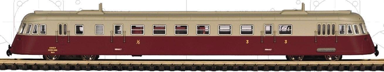 N Scale - Mabar - 85923 - Railcar, Diesel, Renault ABJ - SNCF - ZZ 3 R 3406