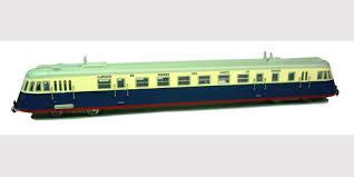 N Scale - Mabar - 85925 - Railcar, Diesel, Renault ABJ - Norte - WND-401