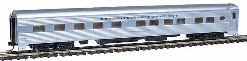 N Scale - Walthers - 932-55045 - Passenger Car, Lightweight, Pullman, Sleeper 10-6 - Louisville & Nashville - Un-numbered