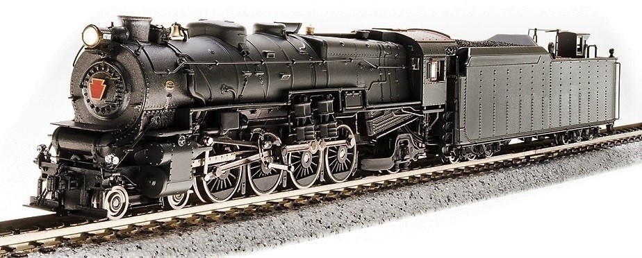 N Scale - Broadway Limited - 3637 - Locomotive, Steam, 4-8-2 Mountain M1 - Painted/Unlettered
