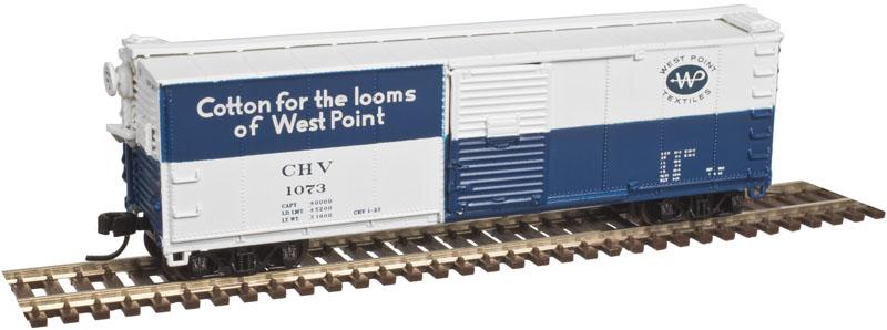 N Scale - Atlas - 50 003 332 - Boxcar, 40 Foot, USRA Steel Rebuilt - Chatahoochee Valley - 1073