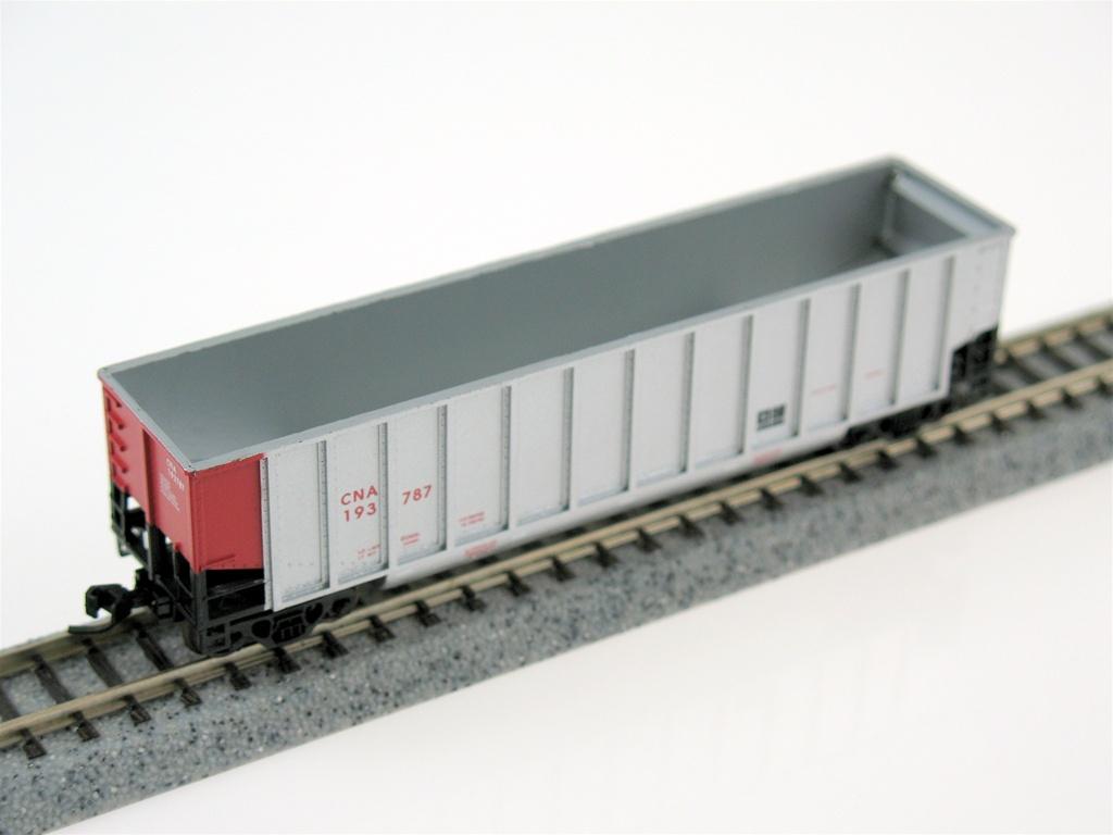 N Scale - Deluxe Innovations - 120703 - Gondola, Bathtub, Johnstown Twin Tub - Canadian National - 193925 193713 193879