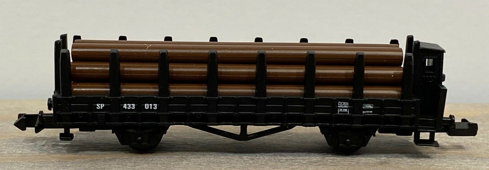 N Scale - High Speed - 426 - Log Car, 65 Foot Evans Upright - Southern Pacific - 433013