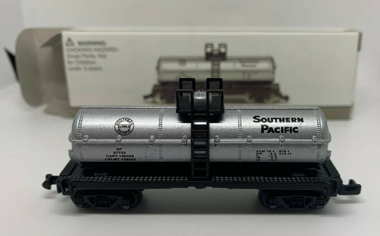 N Scale - High Speed - 419 - Tank Car, Single Dome, 39 Foot - Southern Pacific - 97732