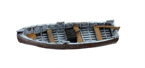 N Scale - Model Tech Studios - 1234 - Boat - Undecorated - Fisherman