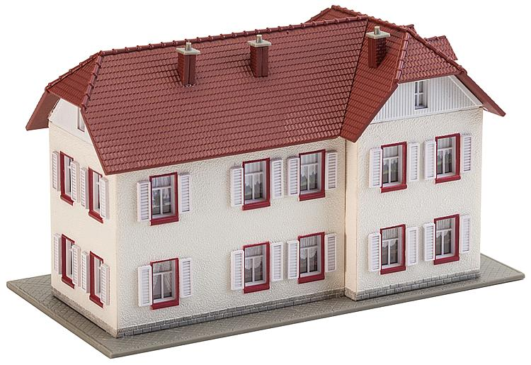 N Scale - Faller - 232216 - Two-story apartment building - Residential Structures