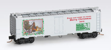 N Scale - Micro-Trains - NSC MTL 10-91 - Reefer, Ice, Steel - Merry Christmas - 2010