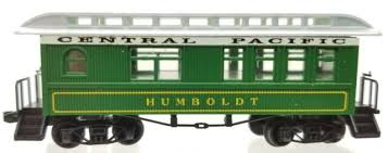 N Scale - Roundhouse - 8543 - Passenger Car, Early, Overton - Central Pacific - Humboldt