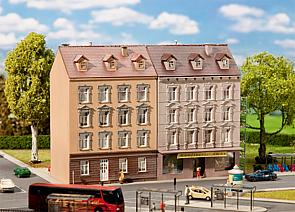 N Scale - Faller - 232311 - 5 Story Apartment Buildings - Residential Structures