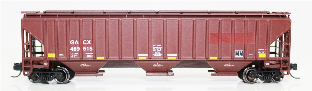 N Scale - Fox Valley - 85007-3 - Covered Hopper, 3-Bay, PS2-CD 4750 - GACX - 469709