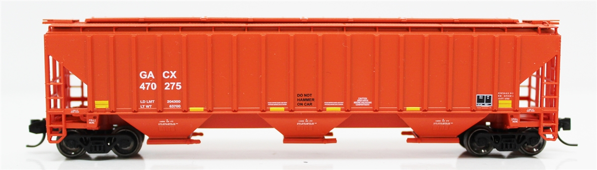 N Scale - Fox Valley - 85008-2 - Covered Hopper, 3-Bay, PS2-CD 4750 - GACX - 470277