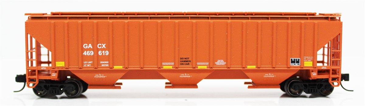 N Scale - Fox Valley - 85009-2 - Covered Hopper, 3-Bay, PS2-CD 4750 - GACX - 469862