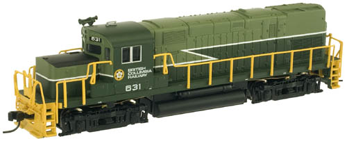N Scale - Atlas - 40 000 026 - Locomotive, Diesel, Alco C-420 - British Columbia - 631