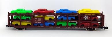 N Scale - Model Power - 3155 - Autorack, Open, F89F Tri-Level - Santa Fe - 119909