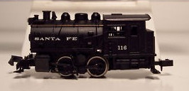N Scale - Bachmann - 4733 - Locomotive, Steam, 0-4-0, Tank - Santa Fe - 116