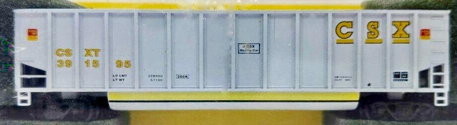 N Scale - Deluxe Innovations - 12060-6f - Gondola, Bathtub, Johnstown Twin Tub - CSX Transportation - 392513