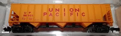 N Scale - Bev-Bel - 4493 - Open Hopper, 3-Bay, 100 Ton - Union Pacific - 88022