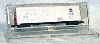N Scale - Bev-Bel - 4469 - Boxcar, 50 Foot, Evans 5277 - Louisiana Midland - 870012