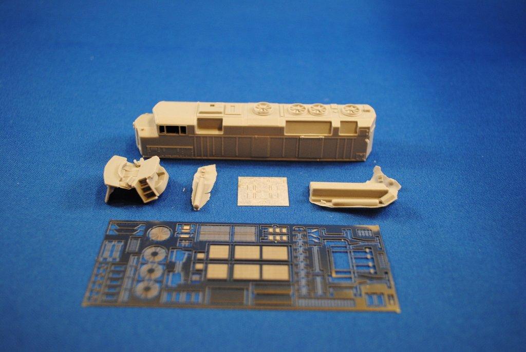 N Scale - Kaslo Shops Distributing - NL-17 - Locomotive, Diesel, EMD SD50 - Go Transit