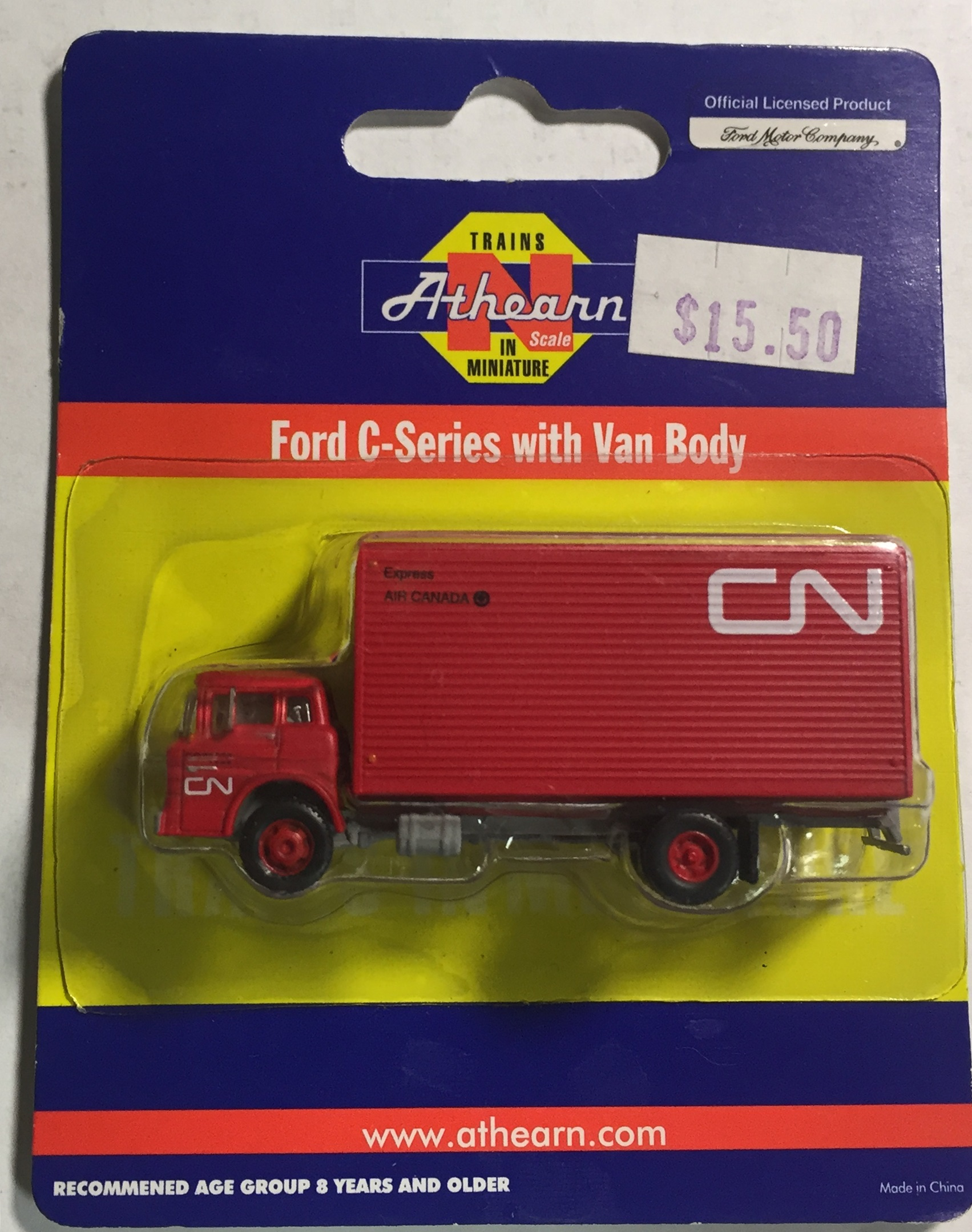 N Scale - Athearn - 91503-C - Truck, Ford C-Series - Canadian National - 75329