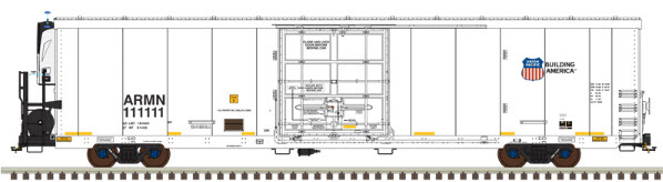 N Scale - Atlas - 50 003 367 - Reefer, 64 Foot, Trinity - Union Pacific - 111029