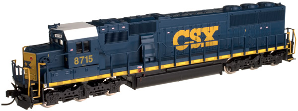 N Scale - Atlas - 40 002 049 - Locomotive, Diesel, EMD SD60M - CSX Transportation - 8773