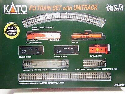 N Scale - Kato USA - 106-0011 - Freight Train, Diesel, North American, Transition Era - Santa Fe