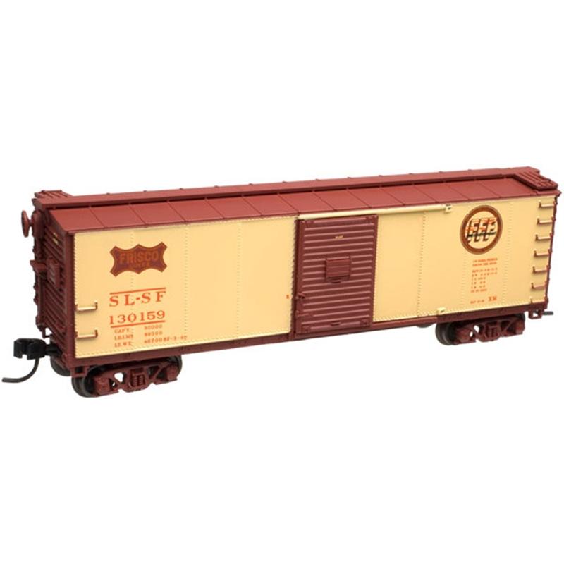 N Scale - Atlas - 50 000 725 - Boxcar, 40 Foot, USRA Steel Rebuilt - Frisco - 130159