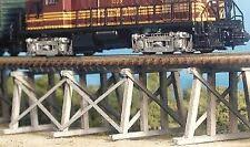 N Scale - Bar Mills - 0304 - Trestle - Railroad Structures